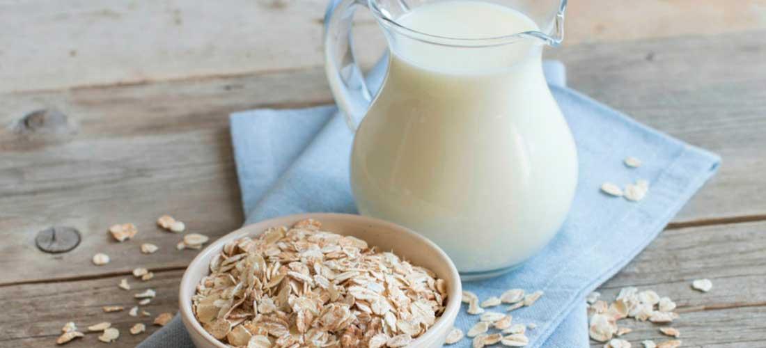 preparar leche de avena