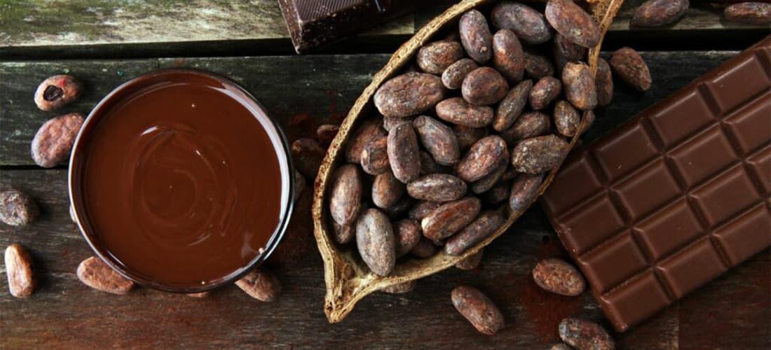 Chocolate alimentos saludables para combatir la ansiedad y el estrés