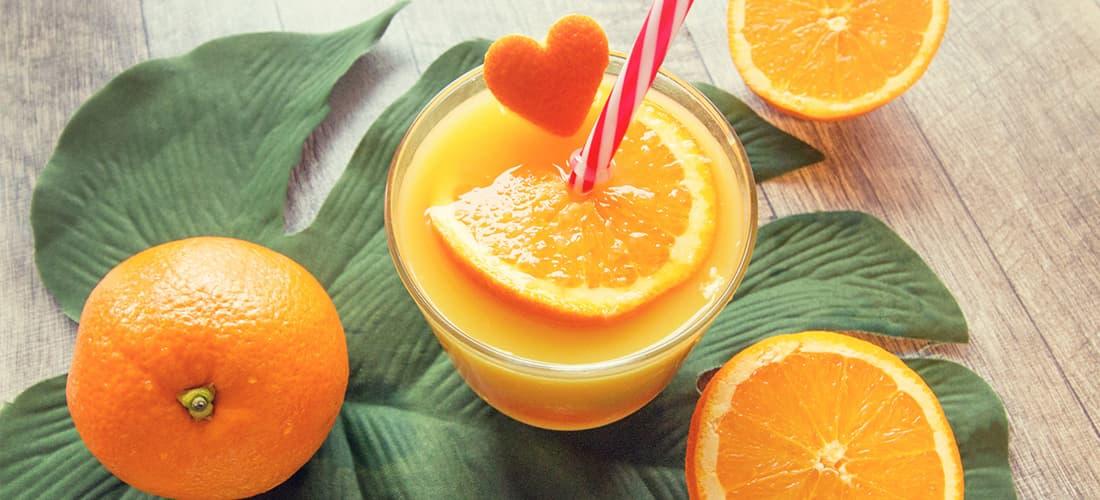 naranja alimentos saludables para combatir la ansiedad y el estrés