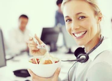 Alimentos saludables consejos alimentación para personas ocupadas plan