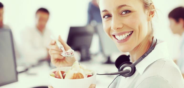 alimentos saludables para personas ocupadas