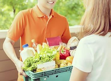 la tecnología en cuarentena, apps de compras alimentos despensa online envío a domicilio