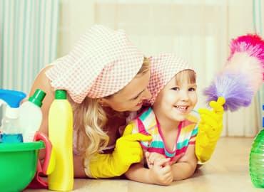 Desinfecta hogar prevenir enfermedades bacterias virus
