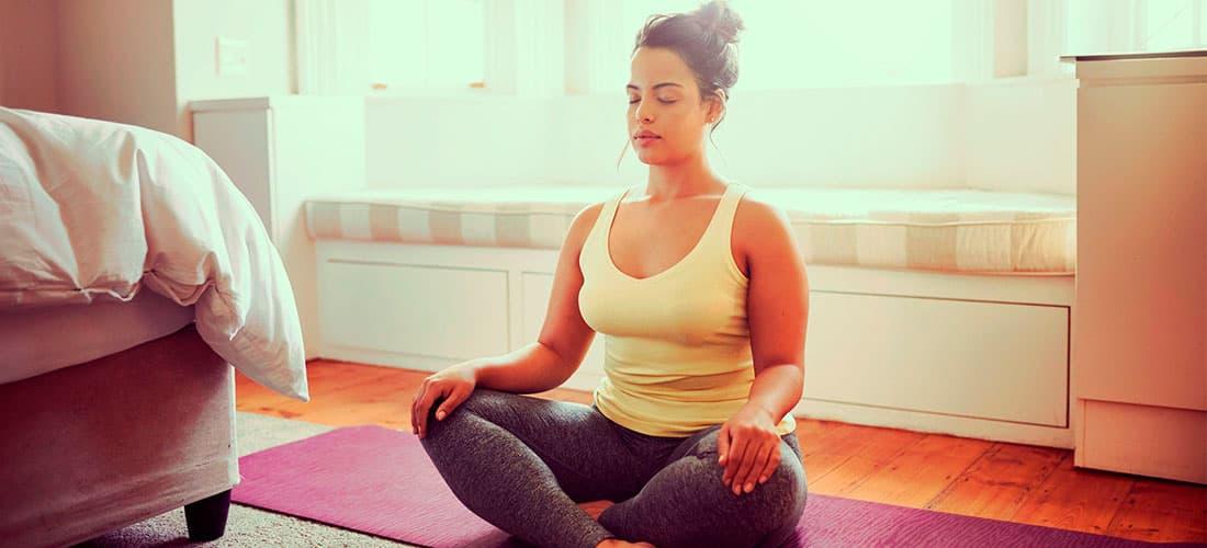 Ejercicios y técnicas para relajación muscular y mental. Meditación