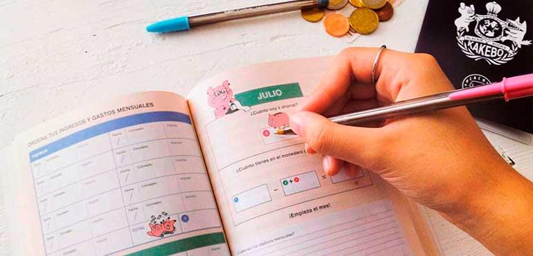 método japonés kakebo para ahorrar y manejar el presupuesto