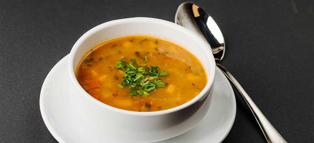 sopa de lenteja