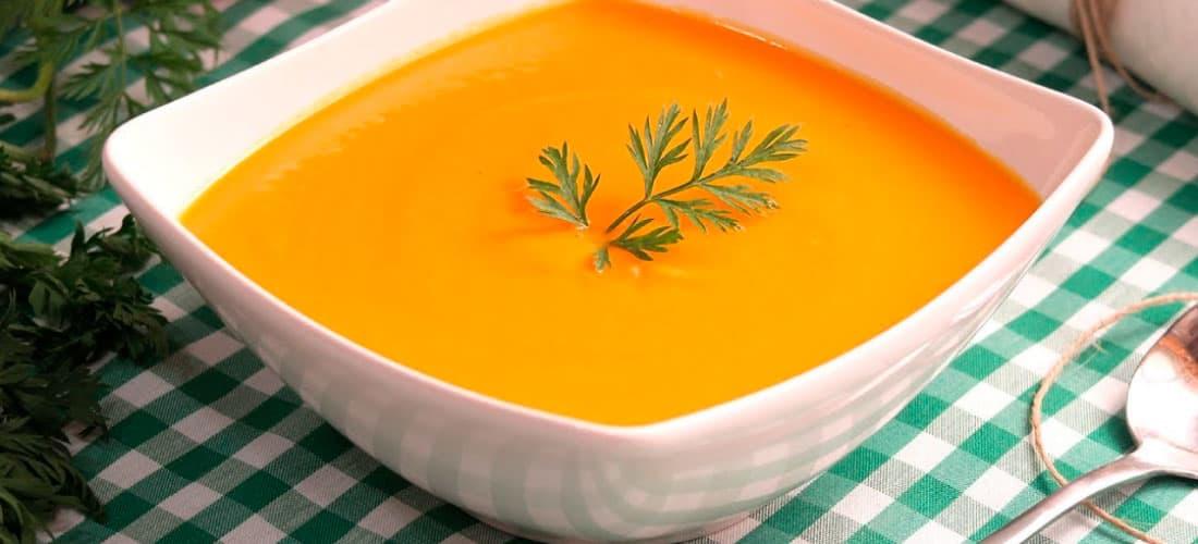 comida recetas económicas y faciles, menú semanal económico crema de zanahoria