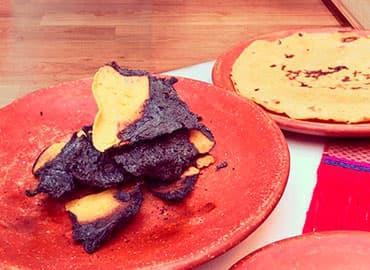 usos y beneficios de la tortilla quemada, ceniza de tortilla, carbón activado