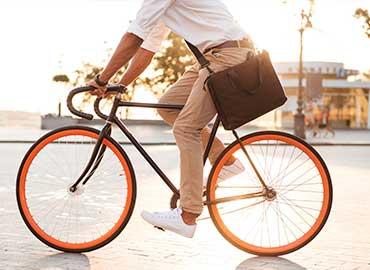 ventajas de usar la bicicleta