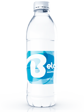 agua purificada embotellada inmaculada bela litro y medio