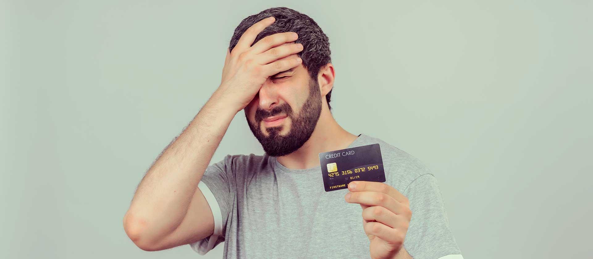 5 errores que debemos evitar al usar tarjeta de crédito
