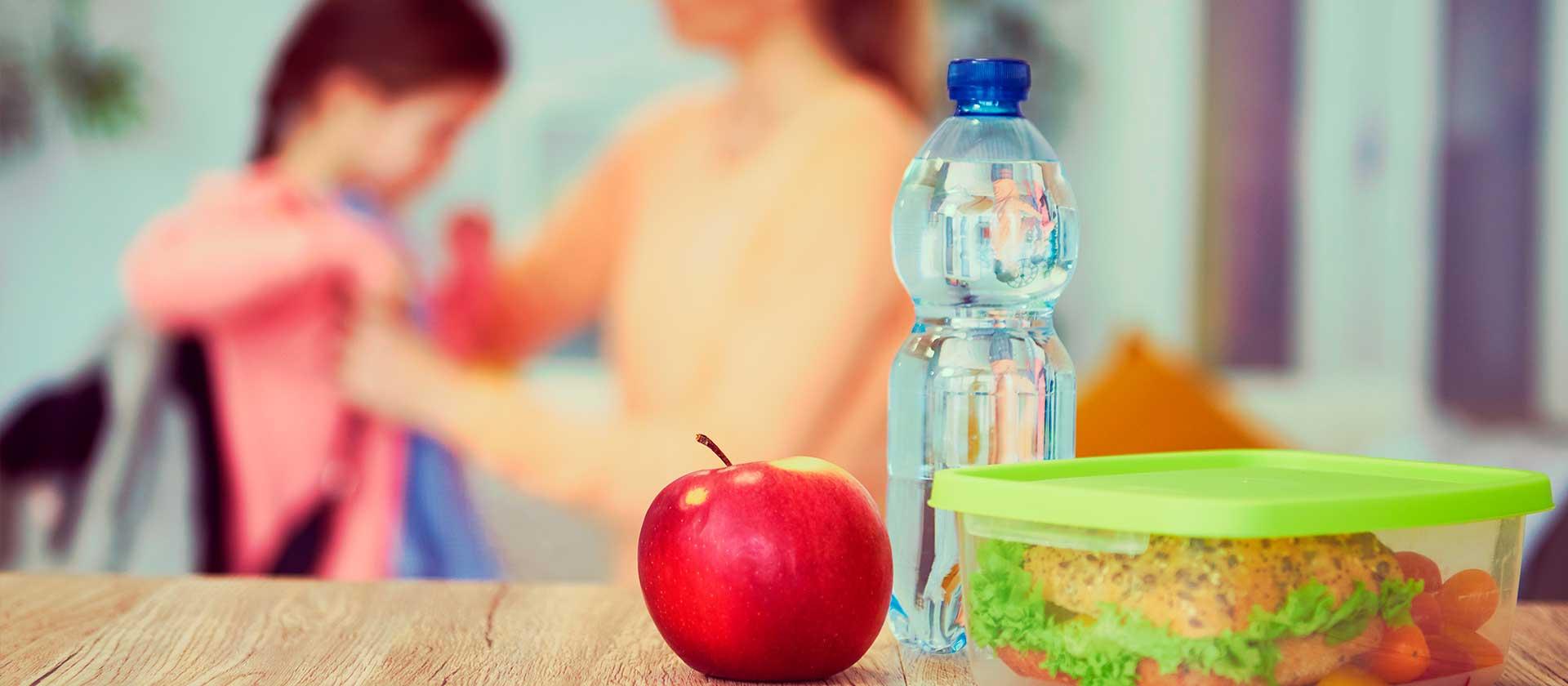 lunch escolar saludable y fácil para los niños